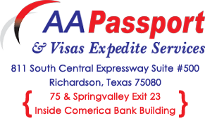 Passport and Visa Services in america Retina Logo